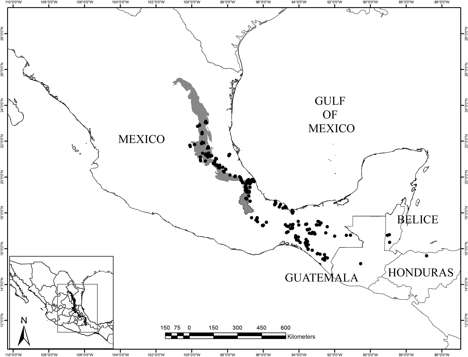 Taxonomic review of Ceratozamia (Zamiaceae) in the Sierra Madre ...